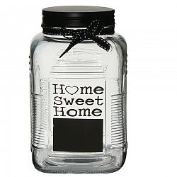 Altom Sklenená dóza Home Sweet Home, 1000 ml