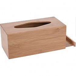 Bambusový box na vreckovky Lina, 24,5 cm