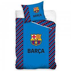 Bavlnené obliečky FC Barcelona Small Cubes, 140 x 200 cm, 70 x 90 cm