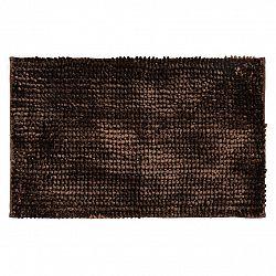 Bo-ma Kúpeľňová predložka Ella micro tmavohnedá, 50 x 80 cm