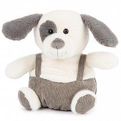 BO-MA Trading Plyšový pes s trakmi, 22 cm