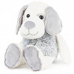 Boma Plyšový pes sivobiely, 30 cm