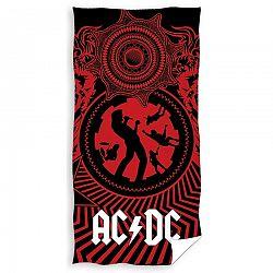 CARBOTEX Osuška AC/DC Black Ice, 70 x 140 cm