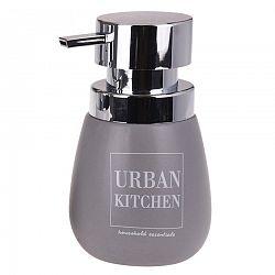Dávkovač na tekuté mydlo Urban kitchen, sivá