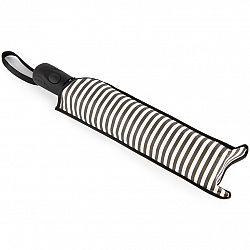 Dáždnik Stripes sivá, 55 cm