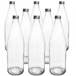 Fľaša sklo+viečko Edensaft 0,7 l ORION