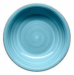 Mäser Keramický hlboký tanier Bel Tempo 21,5 cm, modrá