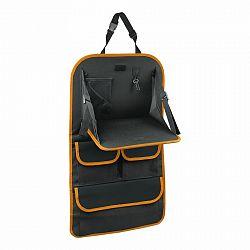 Organizér na predné sedadlo so stolíkom Orange, 40,5 x 69,5 cm