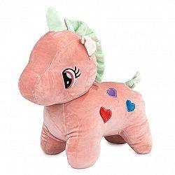 Plyšová hračka Jednorožec ružová, 40 cm,