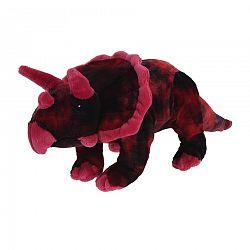 Plyšový Triceratops ružová, 38 cm