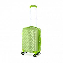 Pretty UP Cestovný škrupinový kufor ABS21 S, zelená
