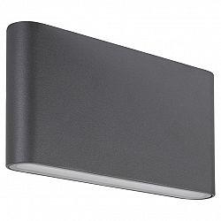 Rabalux 7952 Nesna Vonkajšie LED nástenné svietidlo, čierna