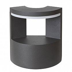 Rabalux 7967 Wallowa Vonkajšie LED nástenné svietidlo, sivá