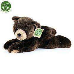 RAPPA medveď tmavohnedý ležiaci ECO-FRIENDLY 15 cm