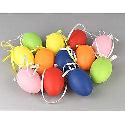 Sada veľkonočných farebných vajíčok, 12 ks