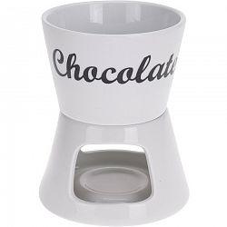 Set na čokoládové fondue, 12,5 x 12,5 x 15,5 cm