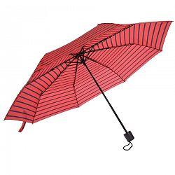 Skladací dáždnik červená, 52,5 cm