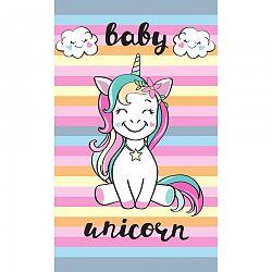 Tiptrade Detský uterák Baby Unicorn, 30 x 50 cm