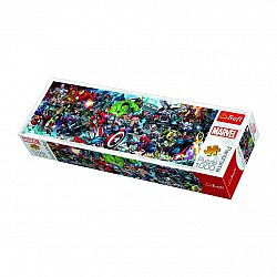 TREFL Panoramatické Svět Marvelu 1000 dielov