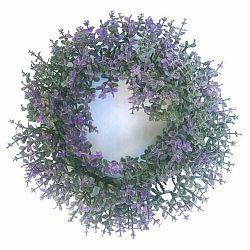 Umelý veniec Buxus fialová, pr.16 cm