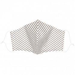 Ústne bavlnené rúško Stripe medium