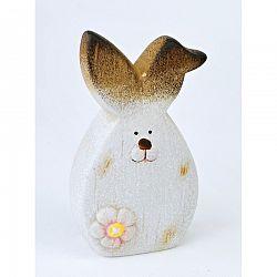 Veľkonočný keramický zajačik Floret, 14,5 cm, 14,5 cm