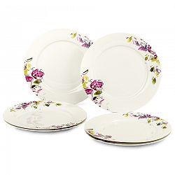 Verso 6-dielna sada dezertných tanierov Clasico Floral, 20,5 cm