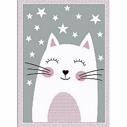 Vopi Kusový detský koberec Kiddo 0132 pink, 120 x 170 cm