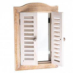 Zrkadlo s okenicami, 30 x 45 x 3 cm